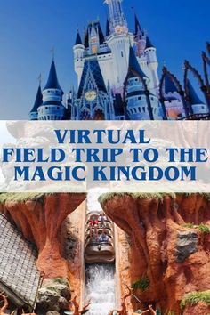 Diet Meal Plan Discover Virtual Field Trip Ideas: Disney World Magic Kingdom Take that virtual vacation with the kids to the most magical place on earth: Disney World! Its time for a field trip- and no better place than the Magic Kingdom. Home Learning, Learning Activities, Activities For Kids, Geography Activities, Educational Activities, Virtual Travel, Virtual Tour, Virtual Field Trips, Disney World Magic Kingdom