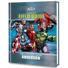 Marvel's The Avengers: Black Ops Personalized Book