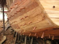Wooden boat construction- Malaysia - Boat Design Forums