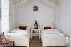 This looks like my room at Hotel Villa Maroc Riad.  Essaouira, Morocco