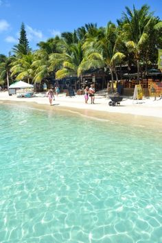 #15 on the list is where Jesse and I went! West Bay Beach - West Bay, Roatan, Honduras
