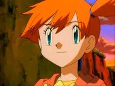 Misty from Pokemon, she was my favorite!