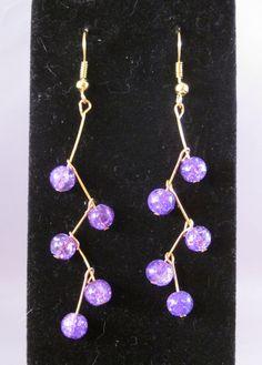 Grapevine Earrings by minniesjewels on Etsy
