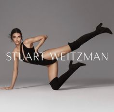Kendall Jenner by Charlotte Wales for Stuart Weitzman, Fall Kendall Jenner Shoes, Kylie Jenner Snapchat, Kendall Jenner Photoshoot, Thigh High Boots, Over The Knee Boots, Longchamp, Kim Kardashian, Stuart Weitzman, Model Poses Photography
