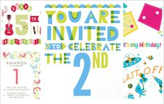 CHARMING PERSONALIZED KIDS' PARTY INVITATIONS #DIY #tips #ideas