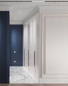AZURE on Behance Home Room Design, Home Interior Design, Living Room Designs, Interior Architecture, Interior Decorating, House Design, Classical Architecture, Lobby Interior, Apartment Interior