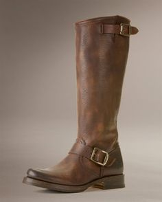 I have these boots. They are gorgeous. I can't wait until it's finally less than 80 degrees so I can wear them.