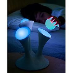 Awesome Night Light. Glowing Balls are removable for late night trips to the potty! :D