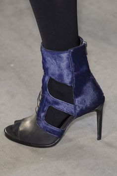 #Helmut Lang Fall 2013 #New York Fashion Week Runway #Booties