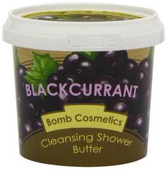 Bomb Cosmetics Cleansing Shower Butter BLACKCURRANT: Amazon.de: Parfümerie & Kosmetik