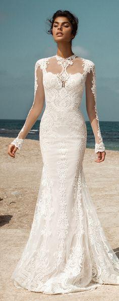 Fall Wedding Dresses 2017 GALA III by Galia Lahav / http://www.himisspuff.com/galia-lahav-fall-2017-wedding-dresses/8/