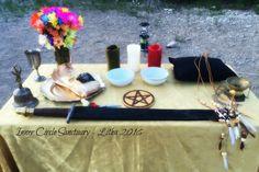 Inner Circle Sanctuary's Litha Sabbat 2016.