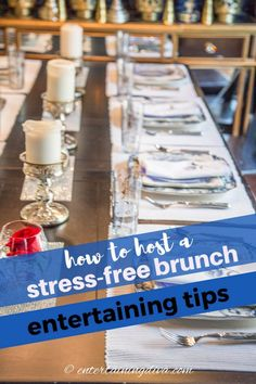 If you're going to be hosting a brunch and want some ideas for pulling it off without causing yourself too much stress, these tips will definitely help! #entertainingdiva #brunch #4thofjuly #babyshower #bridalshower #partyideas Food Set Up, Rose In A Glass, Types Of Sandwiches, Haunted House Decorations, Keep Food Warm, Sangria Recipes, Party Food And Drinks, Outdoor Halloween, Halloween Birthday