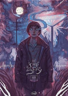 Will byers fan artwork will stranger things, stranger things 2 poster, stranger things netflix Stranger Things Netflix, Stranger Things 2 Poster, Stranger Things Tumblr, Stranger Things Actors, Stranger Things Aesthetic, Stranger Things Tattoo, Stranger Things Stuff, Stranger Things Season 3, Graphisches Design