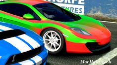 MCLAREN MP4-12C VS FORD MUSTANG GT500 - MOUNT PANORAMA - REAL RACING 3
