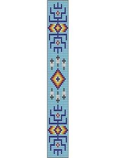 Native American Loom Beading Patterns Free Non Bead Loom Bracelets, Beaded Bracelet Patterns, Jewelry Patterns, Native American Crafts, Native American Beadwork, Native Beadwork, Beading Patterns Free, Seed Bead Patterns, Mosaic Patterns