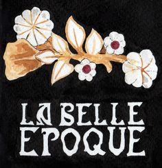 Inkbison card design for La Belle Epoque