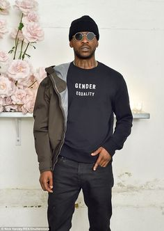 New man: The model and Mercury Prize winner reportedly first caught each others eye when they were introduced by mutual friends Latest Mens Fashion, Dope Fashion, Fashion Tips, Fashion Trends, Urban Fashion, Fashion Ideas, Men Street, Street Wear, Stylish Men