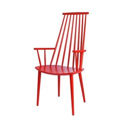 Modern windsor-inspired chair  - love the red by martina
