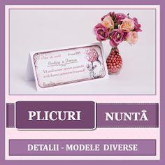 BebeStudio11.com - Invitatii Nunta si Botez: Produse Nunta Place Cards, Place Card Holders