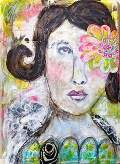 Expressive Faces in Art Journaling — Roben-Marie Smith
