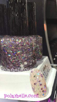 #Seche Collage Overlay Top Coat #swatch - click thru for more info #nailart #nails #notd #nailpolishbloggers #nailbloggers #beautybloggers #bbloggers #bbcoalition via @Polarbelle