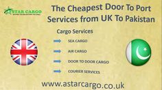 One of the Best Cargo Shipping Company offering the Cheapest Rates