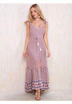 MEDITERRANEAN ESCAPE DRESS
