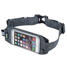 EOTW iPhone 7 Runner Belt Jogging Band Workout Running Case Cell Phone Holder Sports Waist Pack Exercise Pocket For iPhone 7 6S 6 5 SE 5S 5C Samsung Galaxy S5 S4 S3 J5 J3 Pro LG K7 K8 Moto X Lumia HTC >>> For more information, visit image link.