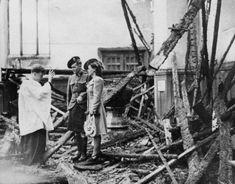 Love among the ruins: Happy Blitz weddings in London, 1940.