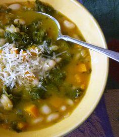 Butternut Squash, Kale & White Bean Soup