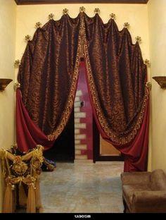 moroccan curtains | ... صالونان مغربية 2014 , curtains Moroccan Salon 2014