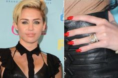 High Quality Miley Cyrus Engagement Ring   Google Search