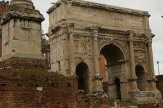 Arch of Septimius Severus in Rome