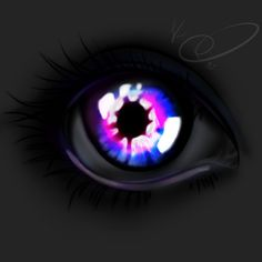Glowing eye v2!