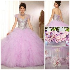 Purple & Pink Quinceanera Colors | Quinceanera Ideas |