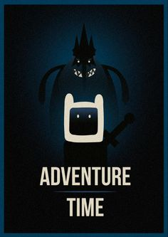 Adventure Time (2013) [744x1052] - Inspired by Olly Moss [OC] - Imgur