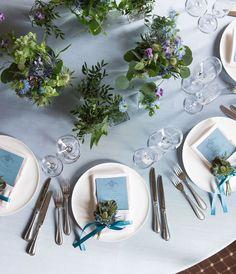 【大阪・神戸】ロマンチックなチャペルで〔エンゲージメントフォト〕が撮れるブライダルフェアが開催♡にて紹介している画像 Wedding Table Deco, Rustic Wedding, Wedding Decorations, Table Decorations, Green Wedding, Wedding Colors, Wedding Flowers, Wedding Notes, Second Weddings