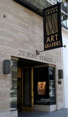 251 Post Street Art Galleries, a contemporary gallery in san francisco california