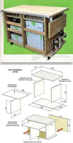DIY MFT Table - Workshop Solutions Projects, Tips and Tricks | WoodArchivist.com