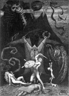 Frank Cheyne Pape~Anatole France's  The Revolt of the Angels.1924.