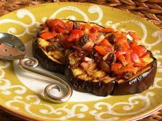 Eggplant with Raisin Salsa #recipe | Carefree Cooking Magazine