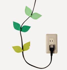 Para disimular los cables