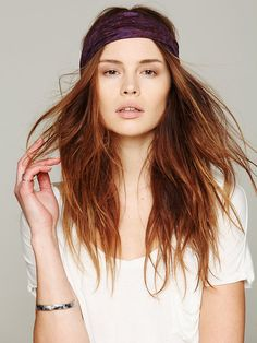 Printed Widebands at Free People Clothing Boutique / OUTFIT #1 - HAIR