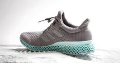 The Futurecraft initiative from adidas involves the use of printing to create footwear. For their latest installment of the Futurecraft series adidas partners with Parley for the Oceans to creat… Adidas Shoes Women, Sneakers Adidas, Nike Shoes, Nike Women, Trainers Adidas, T Shirt Pink, Baskets Adidas, Plastic Shoes, Rihanna