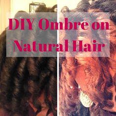 Natural Hair Highlights, Colored Highlights, Natural Hairstyles For Kids, Natural Hair Styles, Diy Ombre, Dark Skin Tone, Natural Hair Journey, New Hair Colors, Loreal