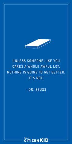 Do you care an awful lot? Volunteer! #quote #quoteoftheday #philanthropy #volunteer www.volunteerairdrie.ca