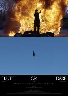 Title and poster design for Truth or Dare – 21 Performances, a...