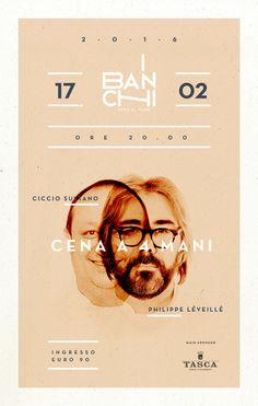 Cena a quattro mani! www.ibanchi.it