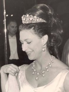 Where to see the greatest tiaras in the world Royal Family Pictures, Margaret Rose, Prince Phillip, English Royalty, Royal Jewelry, Tiaras And Crowns, The Crown, Royal Fashion, British Royals